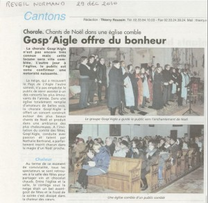 Article chorale 29.12.2010